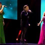 Bituin Escalante, Martin Nievera and Anna Fegi