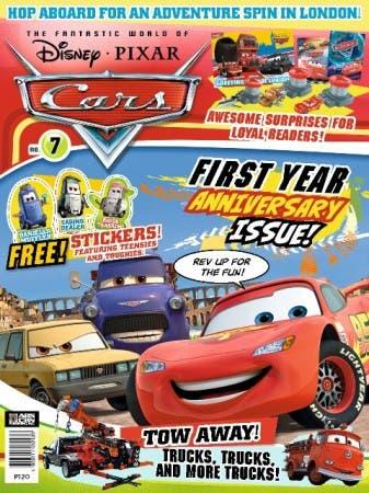 Cars Magazine Cover