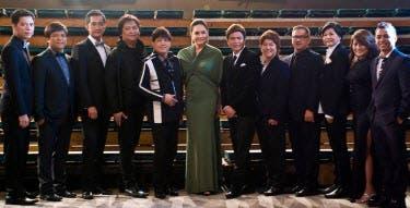 Charo Santos Concio with Directors