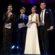 Hosts Megan Young, Matteo Guidicelli, Kim Chiu, and Xian Lim