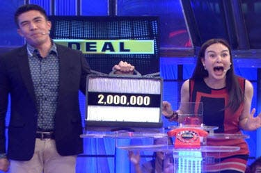 Kapamilya deal or no deal' adds up another million in money board