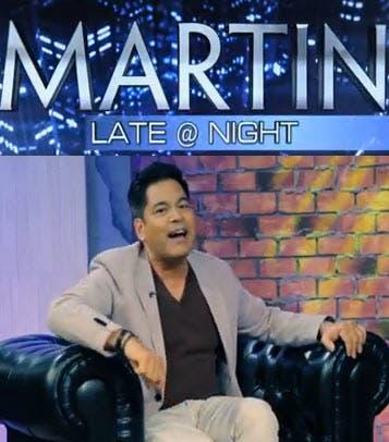 Martin Late at Night