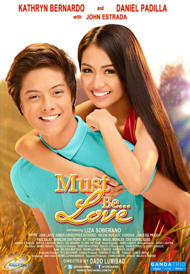 'Must Be Love' Starring Daniel Padilla and Kathryn ...