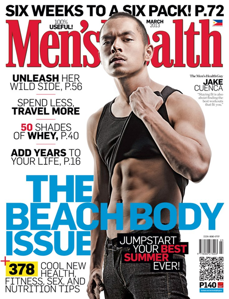 Jake Cuenca Mens Health