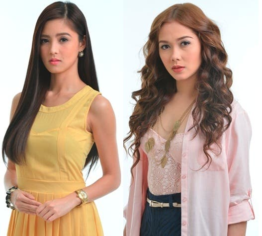 Kim and Maja's new look in INA KAPATID ANAK