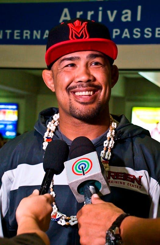 Mark Munoz in Manila