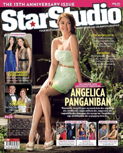 Angelica Panganiban StarStudio Mag April 2013