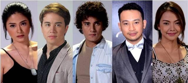 Yam Concepcion, Arjo Atayde, Ejay Falcon, Ketchup Eusebio and Jed Montero
