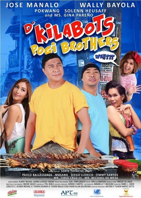 D' KILABOTS POGI BROTHERS MOVIE POSTER