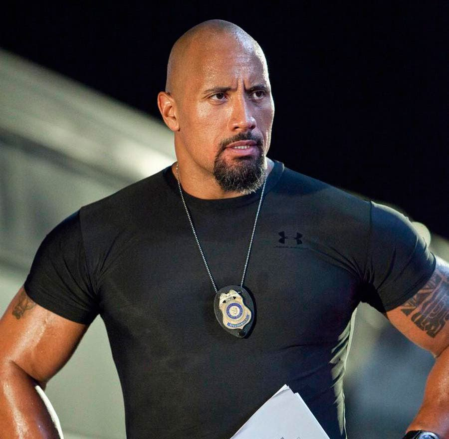 dwayne the rock johnson is back as luke hobbs in fast and furious 6 starmometer. Black Bedroom Furniture Sets. Home Design Ideas