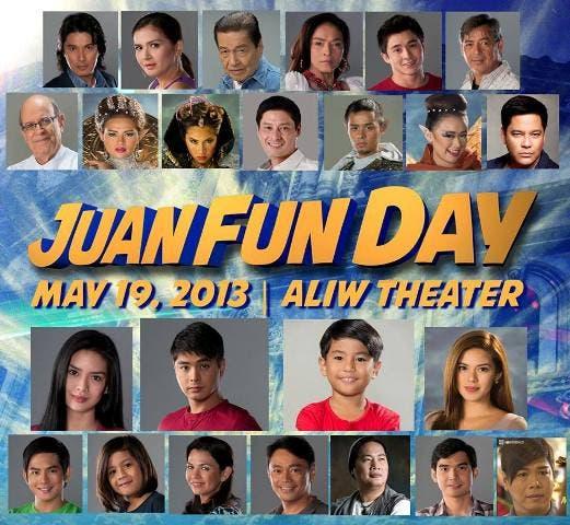 Juan dela Cruz cast treats fans with Juan Fun Day this Sunday
