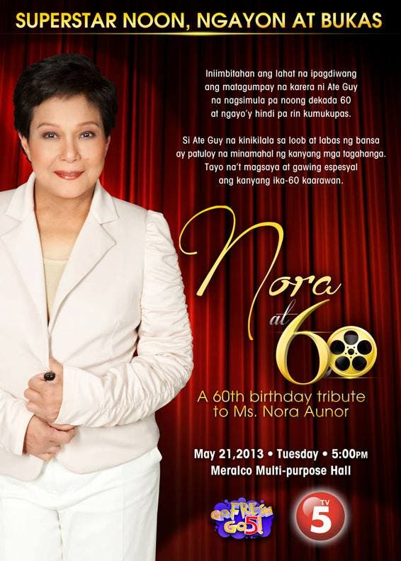 Nora Aunor Birthday