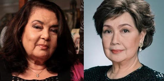 Susan Roces and Amalia Fuentes