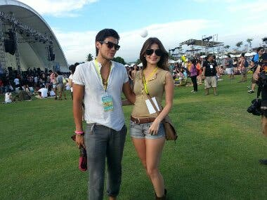 Spotted: Erwan Heussaff and Anne Curtis at Wanderland 2013 ...  Spotted: Erwan ...