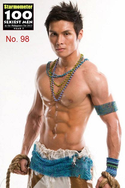 Jay Gonzaga is No. 98 in '100 Sexiest Men in the Philippines 2013′