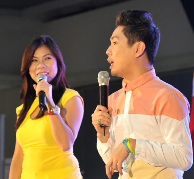 DZMM anchors Mariciel Liao and Onse Tolentino