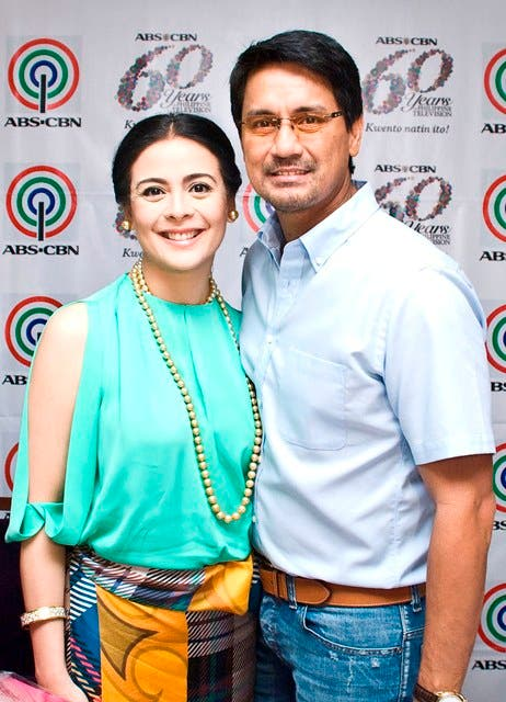 Dawn Zulueta & Richard Gomez