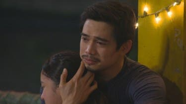 James Blanco together with Julia in MMK's Father's Day episode