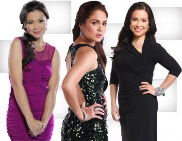 Jodi Sta. Maria, Judy Ann Santos, and Lea Salonga in Working Mom