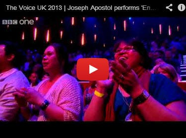Joseph Apostol The Voice Semis