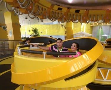 Josh and Kris at the Universal Studios
