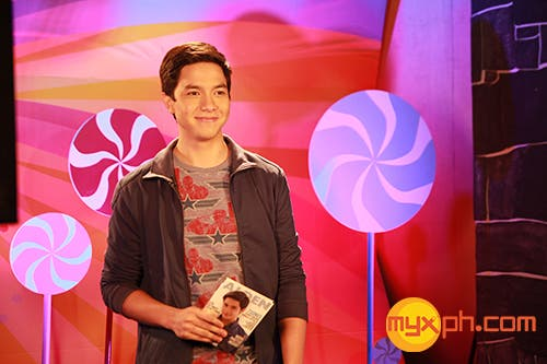 MYX Celebrity VJ Alden Richards on MY MYX