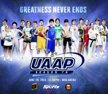 UAAP Season 76 Opening Ceremony to Air on ABS-CBN