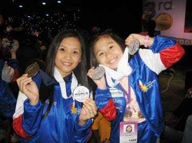 Beverly Caimen and Cha-Cha Canete