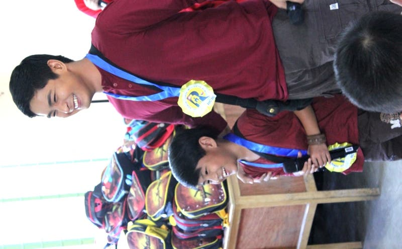 Coco Martin and Izzy Canillo help and inspire kids via 'Juan Fun School Day'