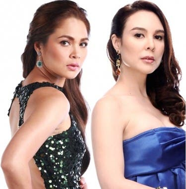 Judy Ann Santos and Gretchen Barretto