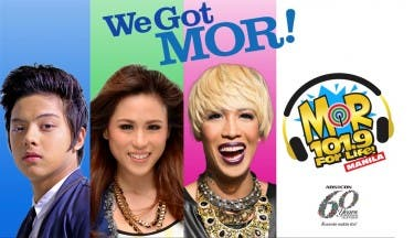 MOR 101.9 FOR LIFE MANILA_Daniel, Toni and Vice are the new faces of ABS-CBN's FM station