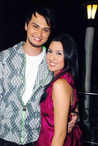 Nikki Gil and Billy Crawford