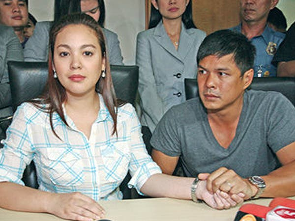 PARTNERS NO MORE. Claudine Barreto filed a temporary protection file against estranged husband, Raymart Santiago on Monday. Is it really necessary? – Inquirer.net photo