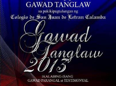 Gawad Tanglaw 2013