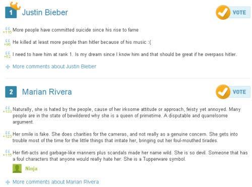 Justin and Marian