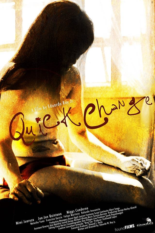 Quick Change Poster