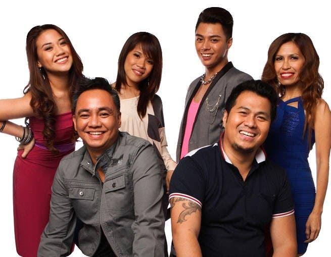 TEAM SARAH -- Morrisette Amon, Klarisse De Guzman, Yuki Ito, Eva Delos Santos, Junji Arias, Maki Ricafort