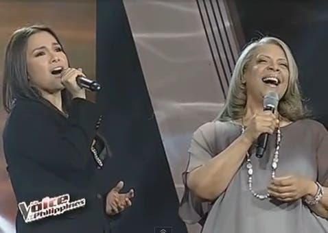 Lea Salonga and Patti Austin on The Voice  of the Philippines