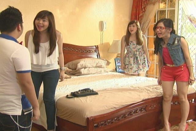 Miles Ocampo, Katrina Legaspi, Ella Cruz, and Igiboy Flores 2