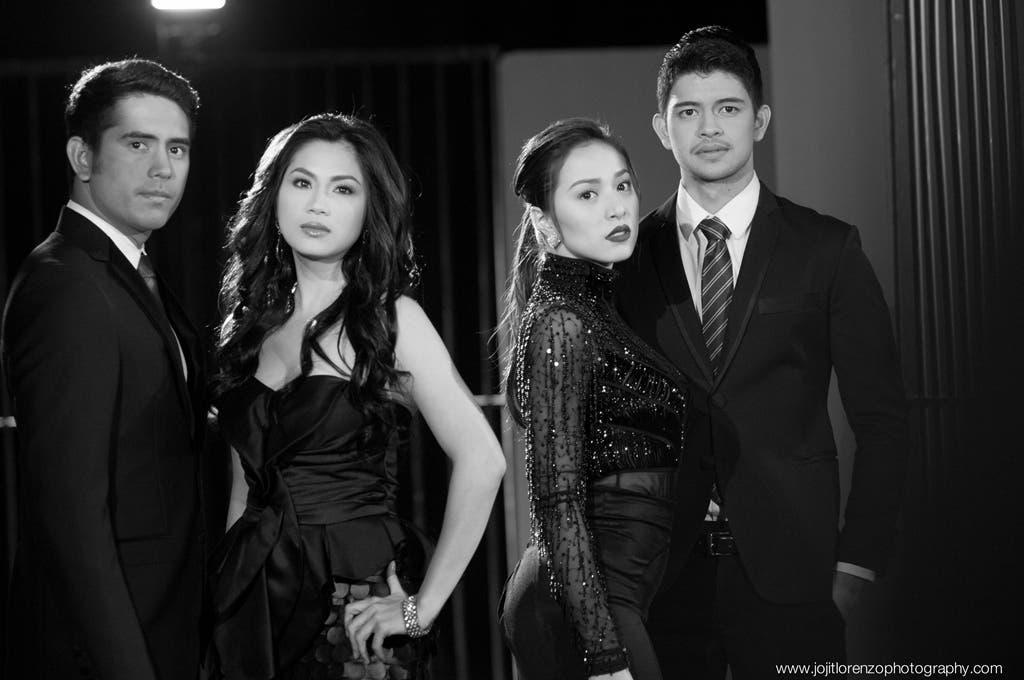 Gerald, Diana, Cristine and Rayver