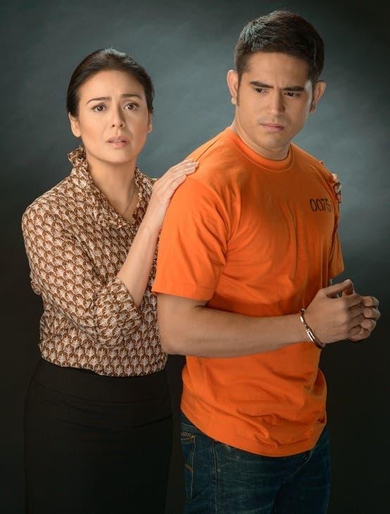 Gerald and Dawn as Miguel and Zenaida Dizon