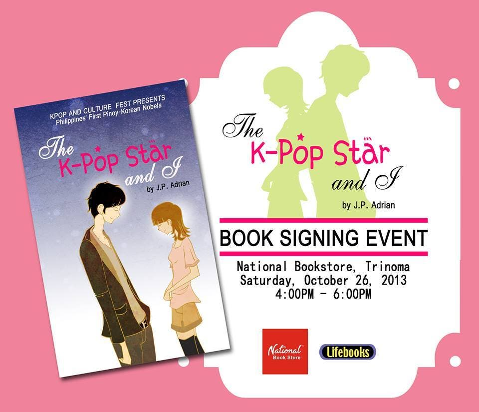 KPop Book Signing