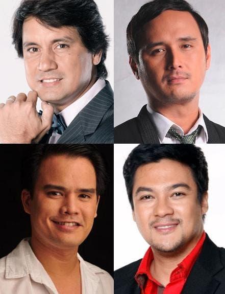 'Palibhasa Lalake' cast members Richard Gomez, John Estrada, Jomari Yllana and Jao Mapa