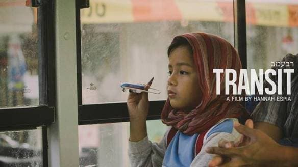 A scene from the Philippines drama movie about OFWs in Israel, 'Transit'.