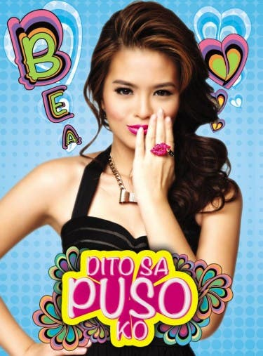 "Bea Binene ""Dito sa Puso Ko"" album cover courtesy of Polyeast Record"