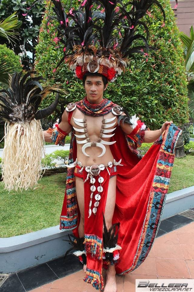 Gil in National Costume
