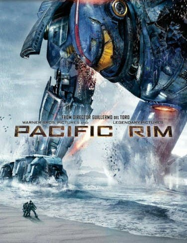 """Pacific Rim"" DVD"