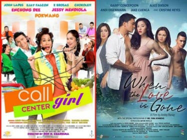 Call center girl beats when the love is gone at the box office starmometer - Mojo box office philippines ...