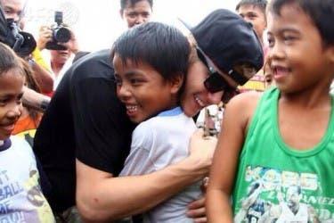 Justin Hugs