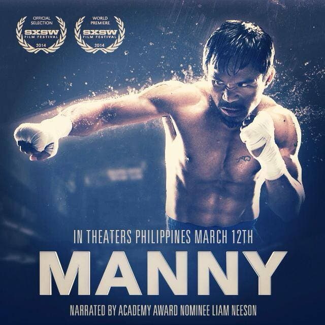 �manny the movie� debuts in texas filmfest opens in ph